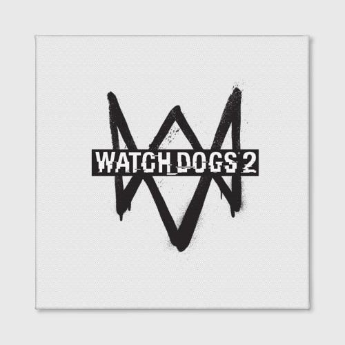 Холст квадратный  Фото 02, Watch Dogs 2
