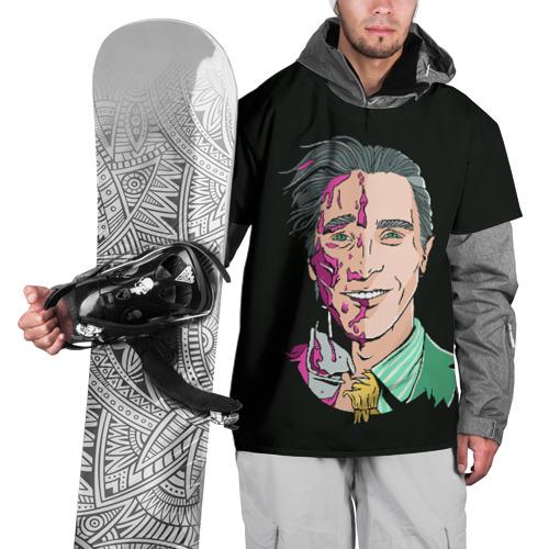 Накидка на куртку 3D  Фото 01, Американский психопат
