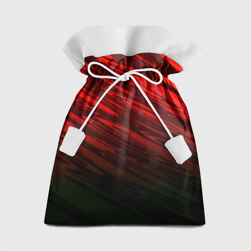 Подарочный 3D мешок Размытие красок Фото 01