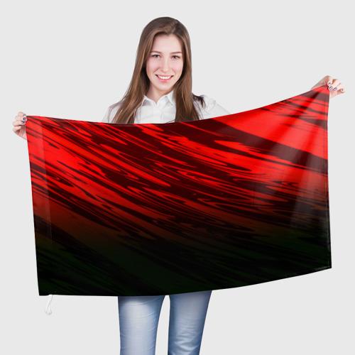 Флаг 3D Размытие красок Фото 01