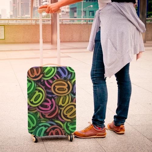 Чехол для чемодана 3D  Фото 04, Symbol
