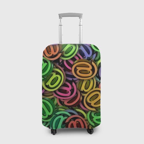 Чехол для чемодана 3D  Фото 01, Symbol