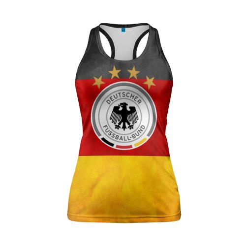 Женская майка 3D спортивная Сборная Германии