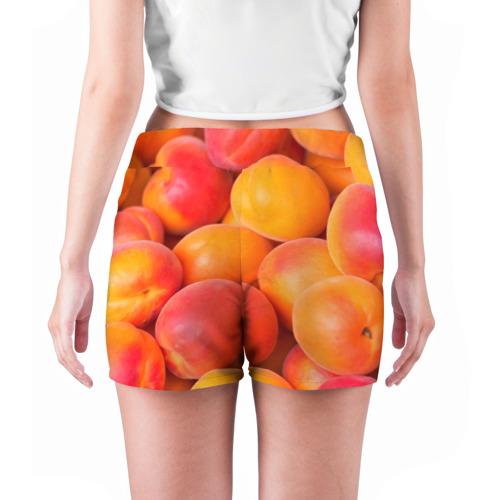 Женские шорты 3D  Фото 04, Абрикос