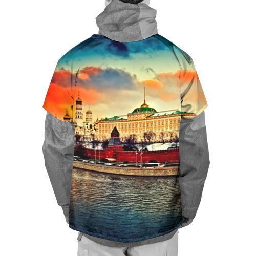 Накидка на куртку 3D  Фото 02, Moscow City