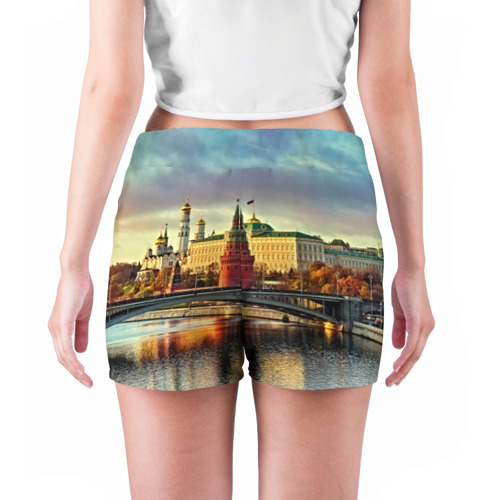 Женские шорты 3D  Фото 04, Москва река