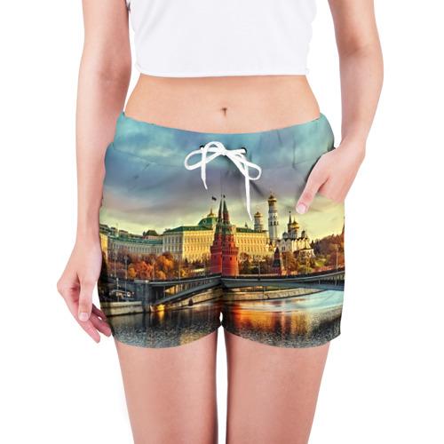 Женские шорты 3D  Фото 03, Москва река