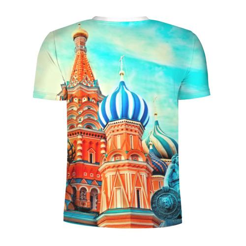 Мужская футболка 3D спортивная  Фото 02, Moscow Russia