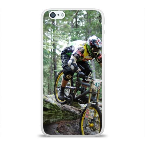 Чехол для Apple iPhone 6Plus/6SPlus силиконовый глянцевый  Фото 01, Велоспорт гонка