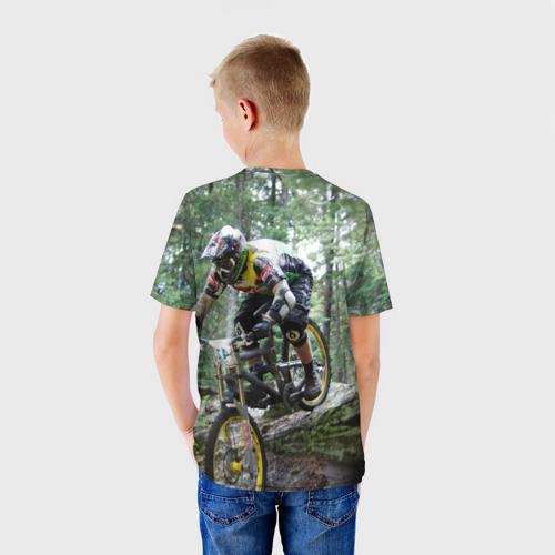 Детская футболка 3D  Фото 02, Велоспорт гонка