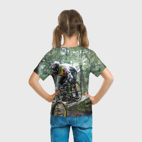 Детская футболка 3D  Фото 04, Велоспорт гонка