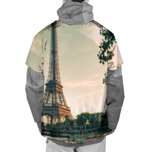 Накидка на куртку 3D  Фото 02, Paris