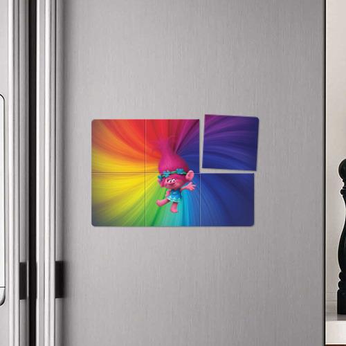 Магнитный плакат 3Х2 Розочка тролли Фото 01