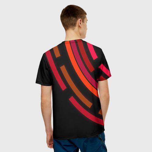 Мужская футболка 3D  Фото 02, Радиус