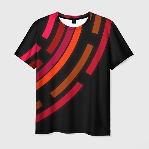 Мужская футболка 3D  Фото 03, Радиус