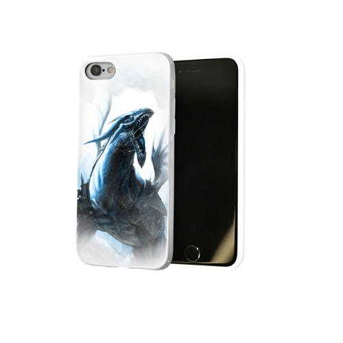 Чехол для Apple iPhone 8 силиконовый глянцевый Dragon Фото 01