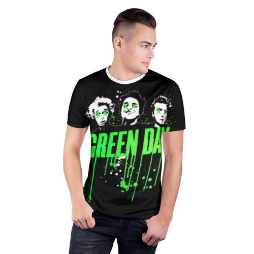 Мужская футболка 3D спортивная Green Day 4 Фото 01