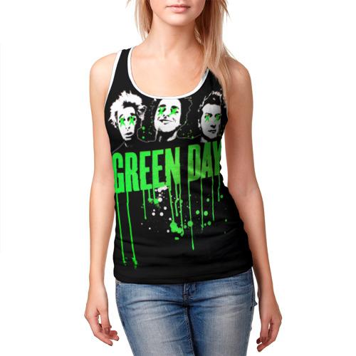 Женская майка 3D  Фото 03, Green Day 4