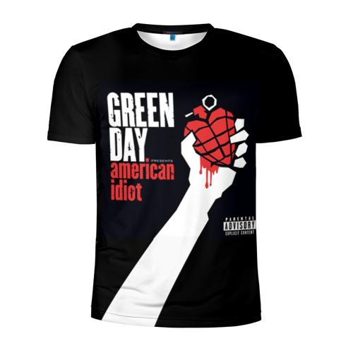 Мужская футболка 3D спортивная Green Day 3 Фото 01