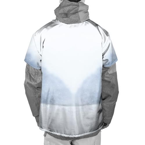 Накидка на куртку 3D  Фото 02, лесная красотка