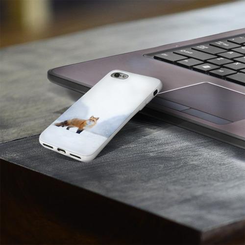 Чехол для Apple iPhone 8 силиконовый глянцевый  Фото 03, лесная красотка