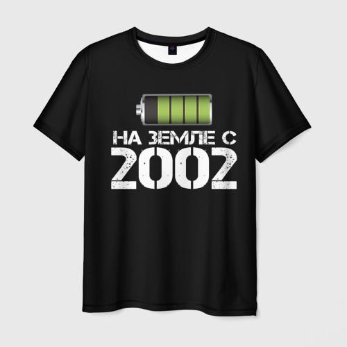 Мужская футболка 3D  Фото 03, На земле с 2002