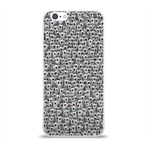 Чехол для Apple iPhone 6 силиконовый глянцевый Ничоси, сколько ничоси!