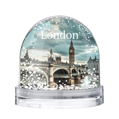 Водяной шар со снегом London