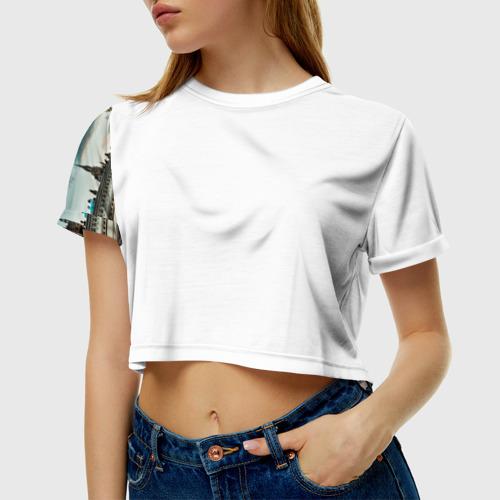 Женская футболка Cropp-top London
