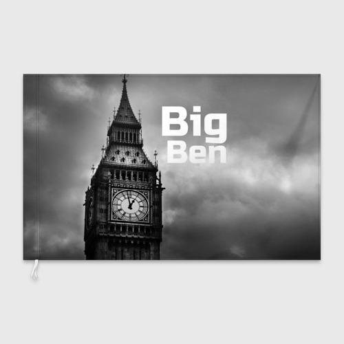 Флаг 3D Big Ben Фото 01