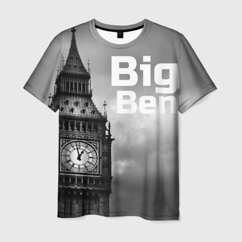 Мужская футболка 3D  Фото 03, Big Ben