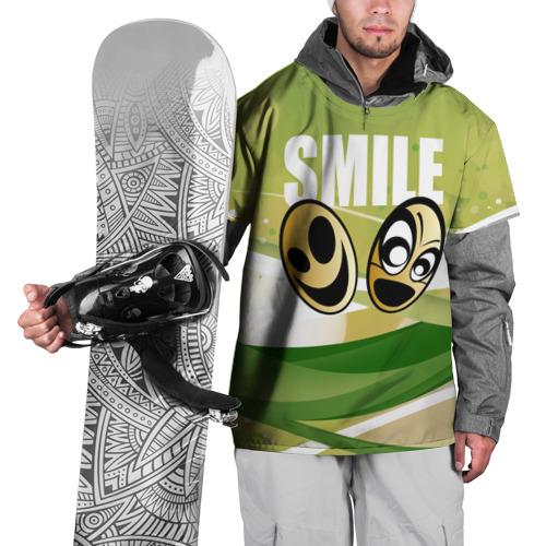 Накидка на куртку 3D  Фото 01, Smile