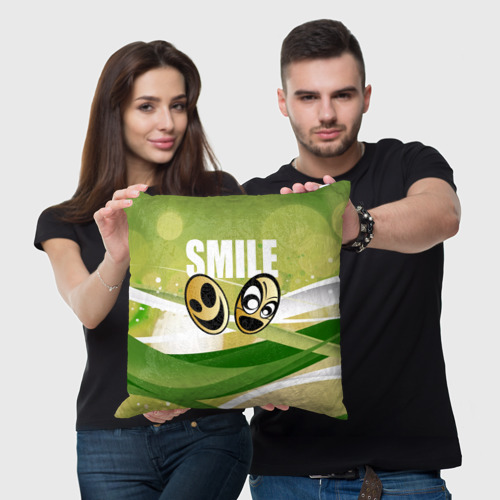 Подушка 3D  Фото 05, Smile