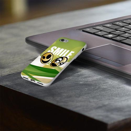 Чехол для Apple iPhone 8 силиконовый глянцевый  Фото 03, Smile
