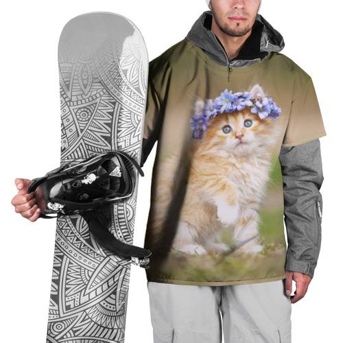 Накидка на куртку 3D  Фото 01, Веночек