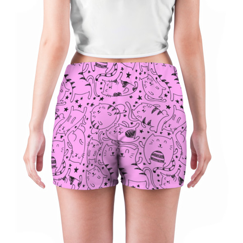 Женские шорты 3D  Фото 04, котейки