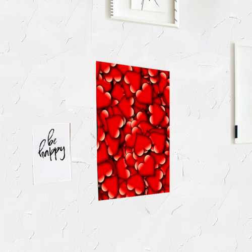 Постер Сердечки Фото 01