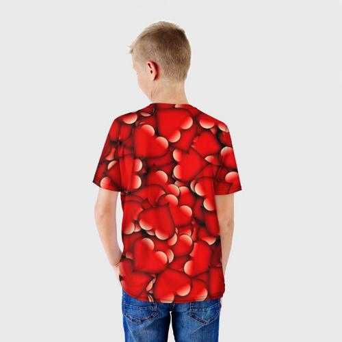 Детская футболка 3D Сердечки Фото 01