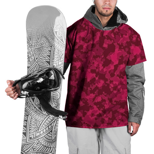 Накидка на куртку 3D  Фото 01, Розовый камуфляж