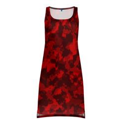 Красный камуфляж