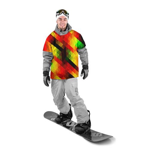 Накидка на куртку 3D  Фото 03, block color