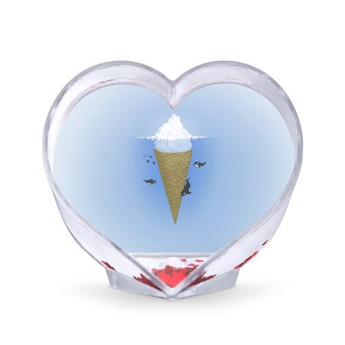 Сувенир Сердце  Фото 01, Мороженое