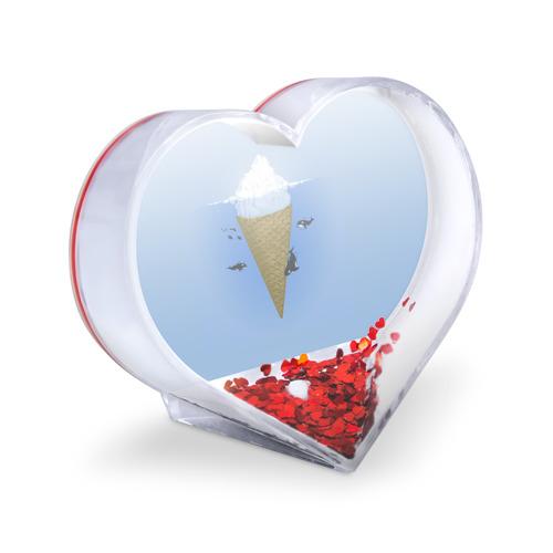 Сувенир Сердце  Фото 03, Мороженое