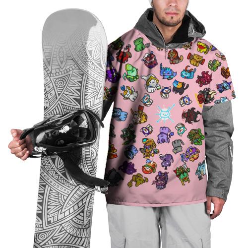 Накидка на куртку 3D  Фото 01, Герои доты стали котятами