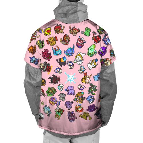 Накидка на куртку 3D  Фото 02, Герои доты стали котятами