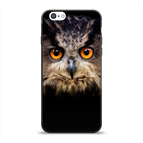 Чехол для Apple iPhone 6 силиконовый глянцевый  Фото 01, Хищный взор