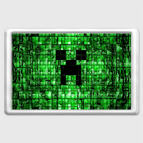 Магнит 45*70  Фото 01, Minecraft