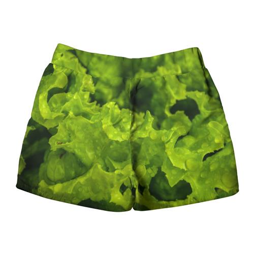 Женские шорты 3D  Фото 02, зелень