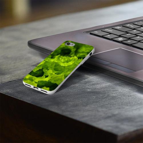 Чехол для Apple iPhone 8 силиконовый глянцевый  Фото 03, зелень