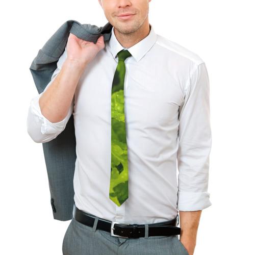 Галстук 3D зелень